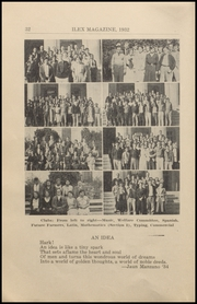 Page 34, 1932 Edition, Woodland High School - Ilex Yearbook (Woodland, CA) online yearbook collection