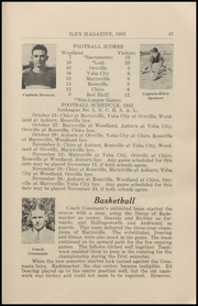 Page 45, 1932 Edition, Woodland High School - Ilex Yearbook (Woodland, CA) online yearbook collection