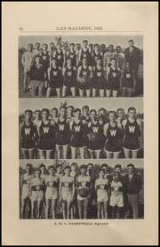 Page 46, 1932 Edition, Woodland High School - Ilex Yearbook (Woodland, CA) online yearbook collection