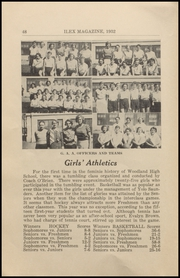Page 50, 1932 Edition, Woodland High School - Ilex Yearbook (Woodland, CA) online yearbook collection
