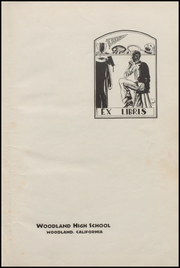 Page 7, 1934 Edition, Woodland High School - Ilex Yearbook (Woodland, CA) online yearbook collection