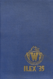 1935 Edition, Woodland High School - Ilex Yearbook (Woodland, CA)