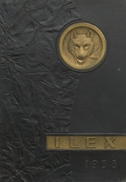 1938 Edition, Woodland High School - Ilex Yearbook (Woodland, CA)