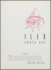 Page 7, 1941 Edition, Woodland High School - Ilex Yearbook (Woodland, CA) online yearbook collection