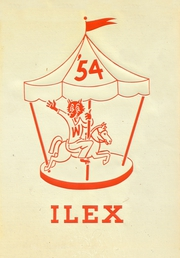 1954 Edition, Woodland High School - Ilex Yearbook (Woodland, CA)