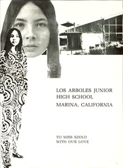 Page 3, 1971 Edition, Los Arboles Junior High School - Herring Gull Yearbook (Marina, CA) online yearbook collection