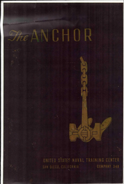 Page 1, 1957 Edition, US Naval Training Center - Anchor Yearbook (San Diego, CA) online yearbook collection