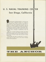Page 4, 1973 Edition, US Naval Training Center - Anchor Yearbook (San Diego, CA) online yearbook collection