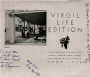 Page 3, 1939 Edition, Virgil Junior High School - Forum Yearbook (Los Angeles, CA) online yearbook collection