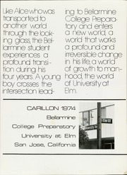 Page 5, 1974 Edition, Bellarmine College Preparatory - Carillon Yearbook (San Jose, CA) online yearbook collection