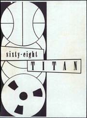 1968 Edition, Toll Middle School - Titan Yearbook (Glendale, CA)
