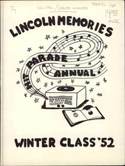 Page 3, 1952 Edition, Lincoln Middle School - Lincoln Log Yearbook (Santa Monica, CA) online yearbook collection