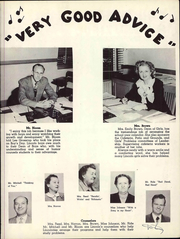 Page 9, 1952 Edition, Lincoln Middle School - Lincoln Log Yearbook (Santa Monica, CA) online yearbook collection