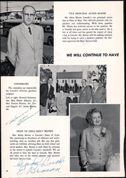 Page 10, 1957 Edition, Lincoln Middle School - Lincoln Log Yearbook (Santa Monica, CA) online yearbook collection