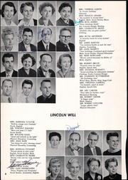 Page 12, 1957 Edition, Lincoln Middle School - Lincoln Log Yearbook (Santa Monica, CA) online yearbook collection