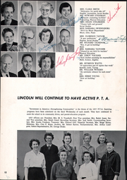 Page 14, 1957 Edition, Lincoln Middle School - Lincoln Log Yearbook (Santa Monica, CA) online yearbook collection