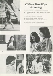 Page 9, 1977 Edition, Ojai Valley School - Retrospect Yearbook (Ojai, CA) online yearbook collection