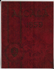 1959 Edition, University of San Diego - Alcala Yearbook (San Diego, CA)