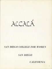 Page 7, 1962 Edition, University of San Diego - Alcala Yearbook (San Diego, CA) online yearbook collection