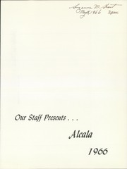 Page 5, 1966 Edition, University of San Diego - Alcala Yearbook (San Diego, CA) online yearbook collection