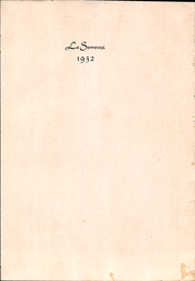 Page 3, 1932 Edition, Scripps College - La Semeuse Yearbook (Claremont, CA) online yearbook collection