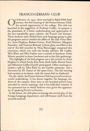 Page 45, 1932 Edition, Scripps College - La Semeuse Yearbook (Claremont, CA) online yearbook collection