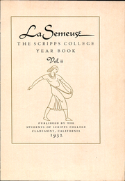Page 5, 1932 Edition, Scripps College - La Semeuse Yearbook (Claremont, CA) online yearbook collection
