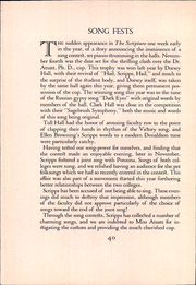 Page 52, 1932 Edition, Scripps College - La Semeuse Yearbook (Claremont, CA) online yearbook collection
