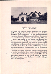 Page 58, 1932 Edition, Scripps College - La Semeuse Yearbook (Claremont, CA) online yearbook collection
