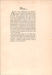 Page 7, 1932 Edition, Scripps College - La Semeuse Yearbook (Claremont, CA) online yearbook collection