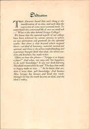 Page 9, 1932 Edition, Scripps College - La Semeuse Yearbook (Claremont, CA) online yearbook collection