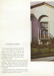 Page 8, 1946 Edition, Academy of Our Lady of Peace - Villa Montemar Yearbook (San Diego, CA) online yearbook collection