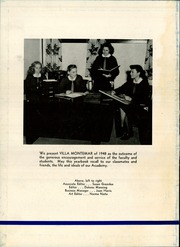 Page 6, 1948 Edition, Academy of Our Lady of Peace - Villa Montemar Yearbook (San Diego, CA) online yearbook collection