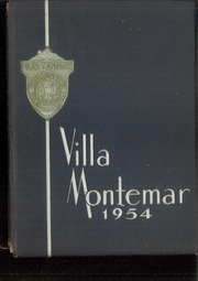 1954 Edition, Academy of Our Lady of Peace - Villa Montemar Yearbook (San Diego, CA)