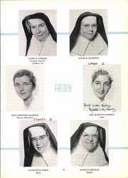 Page 15, 1958 Edition, Academy of Our Lady of Peace - Villa Montemar Yearbook (San Diego, CA) online yearbook collection