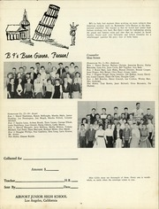 Page 16, 1957 Edition, Airport Junior High School - Flight Log Yearbook (Los Angeles, CA) online yearbook collection