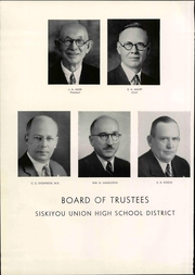 Page 14, 1940 Edition, Siskiyou Union High School - White and Gold Yearbook (Weed, CA) online yearbook collection