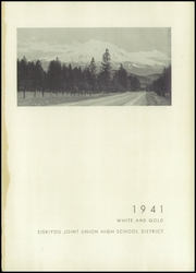 Page 5, 1941 Edition, Siskiyou Union High School - White and Gold Yearbook (Weed, CA) online yearbook collection