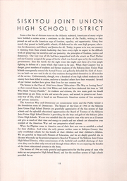 Page 15, 1946 Edition, Siskiyou Union High School - White and Gold Yearbook (Weed, CA) online yearbook collection