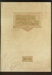 1947 Edition, Siskiyou Union High School - White and Gold Yearbook (Weed, CA)