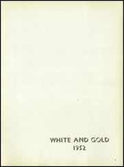 Page 5, 1952 Edition, Siskiyou Union High School - White and Gold Yearbook (Weed, CA) online yearbook collection