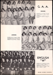 Page 144, 1953 Edition, Siskiyou Union High School - White and Gold Yearbook (Weed, CA) online yearbook collection