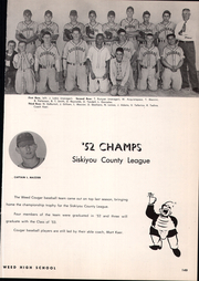 Page 153, 1953 Edition, Siskiyou Union High School - White and Gold Yearbook (Weed, CA) online yearbook collection