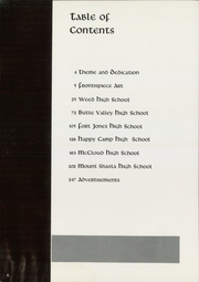 Page 10, 1963 Edition, Siskiyou Union High School - White and Gold Yearbook (Weed, CA) online yearbook collection