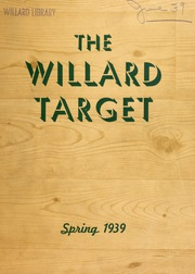 Willard Middle School - Target Yearbook (Berkeley, CA) online yearbook collection, 1939 Edition, Page 1
