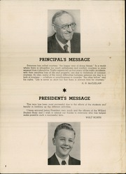 Page 4, 1948 Edition, Willard Middle School - Target Yearbook (Berkeley, CA) online yearbook collection