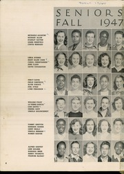 Page 6, 1948 Edition, Willard Middle School - Target Yearbook (Berkeley, CA) online yearbook collection