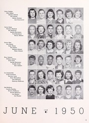 Page 7, 1950 Edition, Willard Middle School - Target Yearbook (Berkeley, CA) online yearbook collection