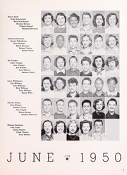 Page 9, 1950 Edition, Willard Middle School - Target Yearbook (Berkeley, CA) online yearbook collection
