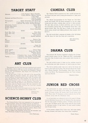 Page 15, 1953 Edition, Willard Middle School - Target Yearbook (Berkeley, CA) online yearbook collection
